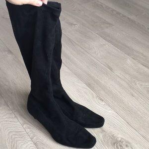 Anthropologie Boden black boots.